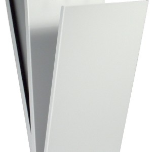 Gray Metal Citation/Form Holder