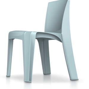 Razorback Chair - Blue Gray