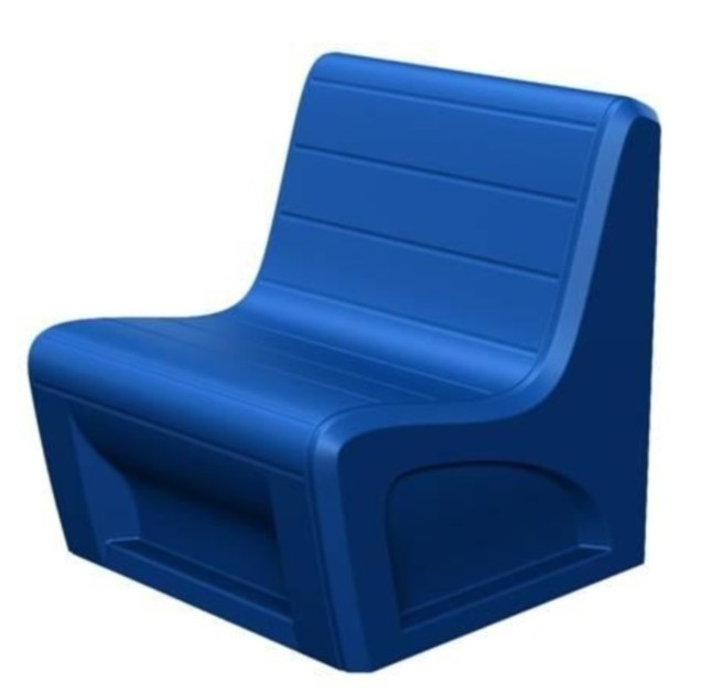 Sabre Chair - Slate Blue