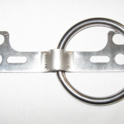 Stainless Steel Wall Mount Handcuff Ring