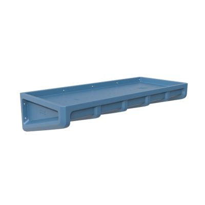 Endurance Wall Bunk Slate Blue