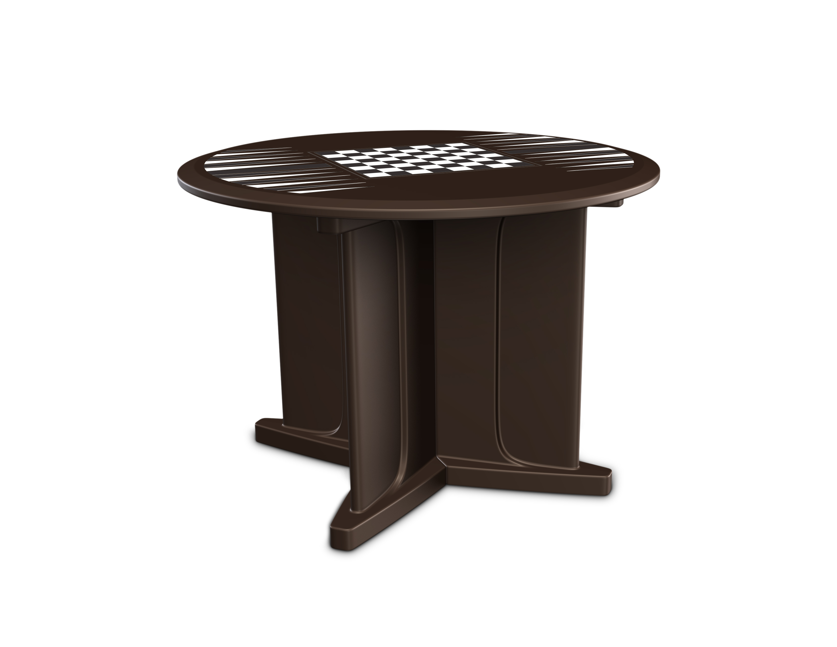 Endurance Game Top Table Brown