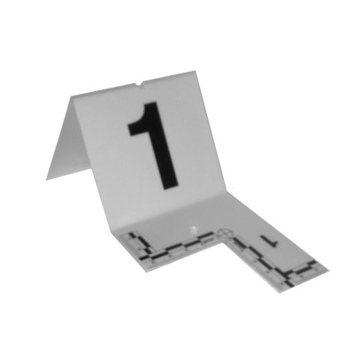 Cutout Evidence Tent Marking Set 1-20