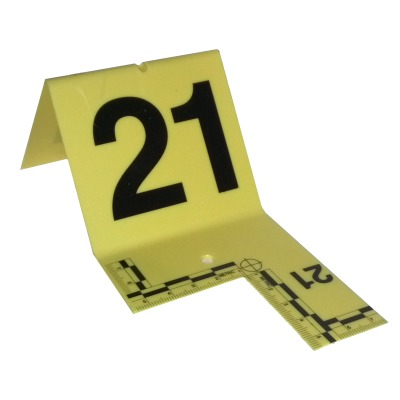 Cutout Evidence Tent Marking Set 21-40