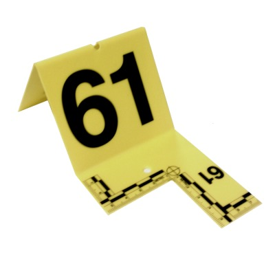 Cutout Evidence Tent Marking Set 61-80