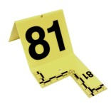 Cutout Evidence Tent Marking Set 81-100