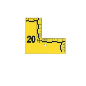 Flat L-Shaped Evidence Tent Marking Set 1-20