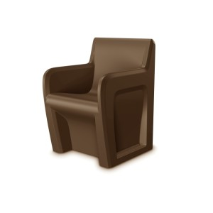 Sentinel Chair Brown