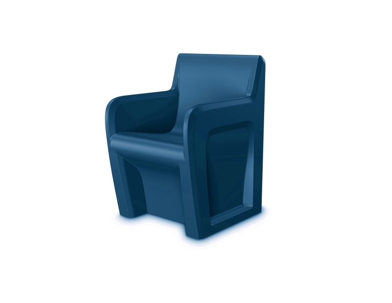 Sentinel Chair Slate Blue