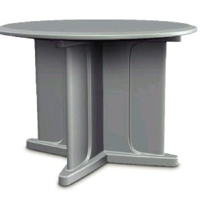 Endurance Table Blue Gray