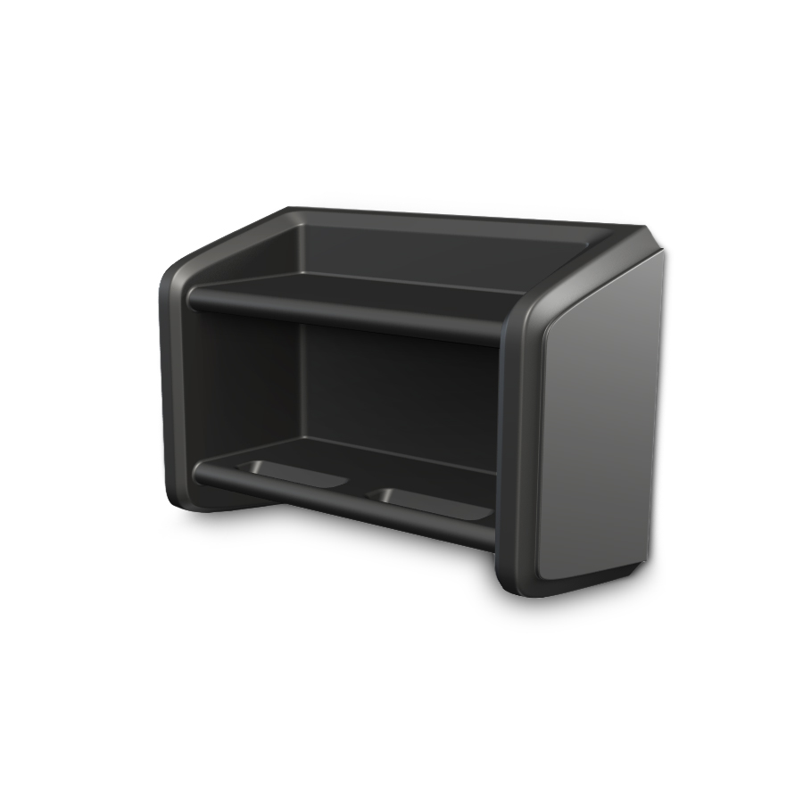 Endurance Wall Shelf Black