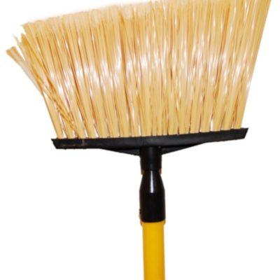 Plastic Angle Broom w/ handle
