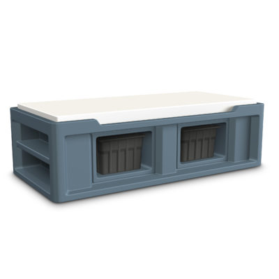 Endurance Bed 2.0 with Storage Slots