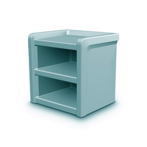Night Stand Blue Gray