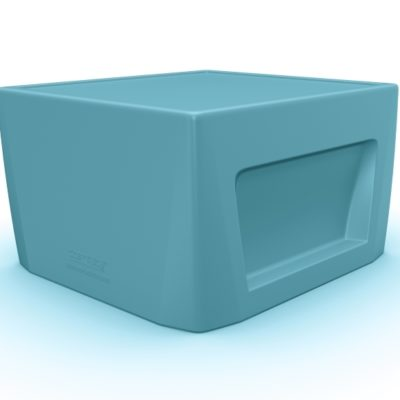 Endurance Cube Blue Gray