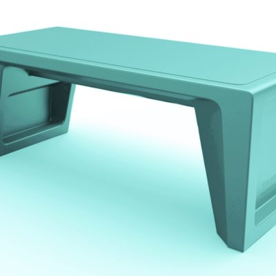 Endurance Bench Blue Gray