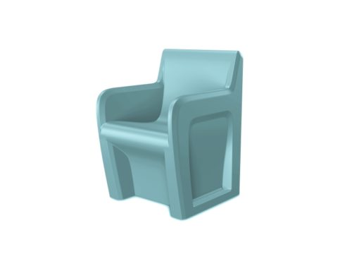 Sentinel Chair Blue gray